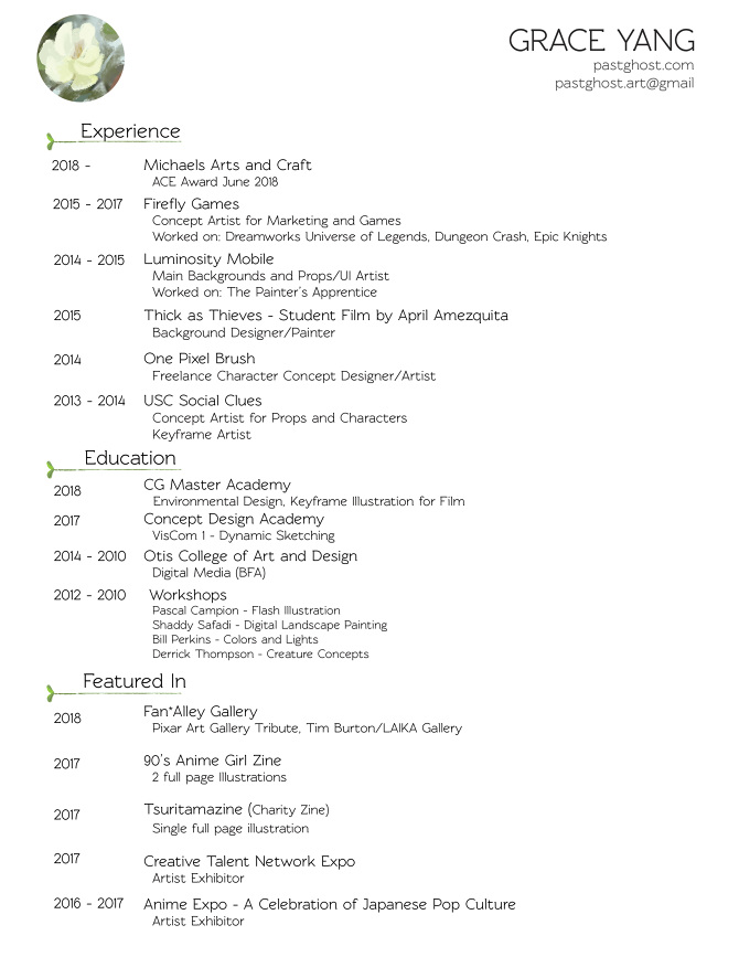 Resume Pastghost